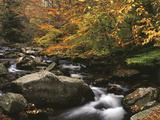 Oconaluftee River, Great Smoky Mountains National Park, North Carolina, USA Fotografisk trykk av Adam Jones