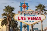 Welcome to Las Vegas Sign, Las Vegas, Nevada, USA Reproduction photographique par Michael DeFreitas