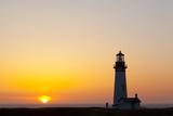 Yaquina Head Lighthouse, 1873, Newport, Oregon, USA Fotografie-Druck von Jamie & Judy Wild