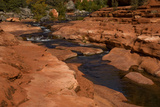 Sedona, Slide Rock State Park, Arizona, USA Photographic Print by Peter Hawkins