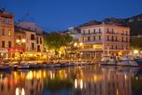 Harbor Town of Cassis, Cote d'Azur, Bouches-Du-Rhone, Provence, France Fotografisk trykk av Brian Jannsen