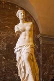 Venus De Milo Statue on Display at Musee Du Louvre, Paris, France Reproduction photographique par Brian Jannsen