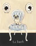 Le Bark Affiches van Emily Adams