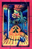 Skull Gardens by Vincent Monaco Blacklight Poster Affiches