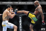 UFC - Anderson Silva Sports Poster Posters