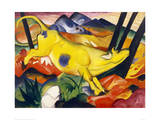 The Yellow Cow Giclée-vedos tekijänä Franz Marc