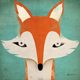 Fox Poster by Ryan Fowler