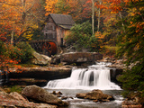 Glade Creek Mill, West Virginia Poster