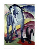 Blue horse I 1911 Giclée-tryk af Franz Marc