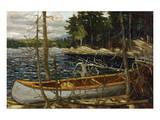Thomson - The Canoe Premium Giclée-tryk af Tom Thomson