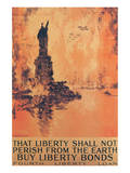 That Liberty Shall Not Perish From The Earth Premium Giclee Print by Joseph Pennell