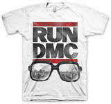 Run DMC - Glasses Logo T-Shirt