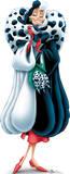 Cruella De Vil - 101 Dalmations Disney Villain Lifesize Standup Cardboard Cutouts