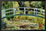 Le Pont Japonais a Giverny Posters by Claude Monet