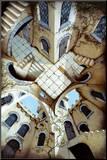 The Courtyard Impressão montada por Irvine Peacock