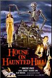 House on Haunted Hill (Vincent Price) Impressão montada