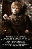 Game of Thrones – Tyrion Mounted Print