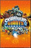 Skylanders Giants - Key Art Affiche montée sur bois