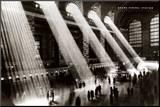 Nova York, Nova York, Grand Central Station Impressão montada por Hal Morey