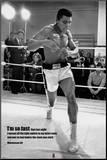 Muhammad Ali Impressão montada