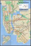 New York City Subway Mounted Print