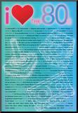 I Love the 80s Greatest Quotes Movie Poster Print Impressão montada