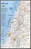 National Geographic Holy Land Montert trykk