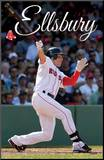 Red Sox - J Ellsbury 2012 Mounted Print