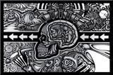 The Conscious Existence Impressão montada por Chris Sheehan