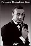 James Bond Impressão montada