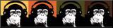 Monkey Quad Impressão montada por  Steez