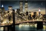Manhattan Impressão montada