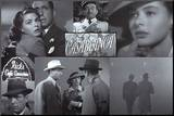 Casablanca Impressão montada