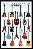 Guitar Heaven Impressão montada