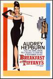 Breakfast at Tiffany's, Diamants sur canapé Affiche montée sur bois