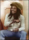 Bob Marley Impressão montada