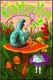 Alice in Wonderland Mounted Print