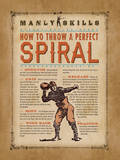 Manly Skills IV Plakat af Stephanie Marrott