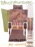 Cloister Series, Ace Gallery, Canada Samlertryk af Robert Rauschenberg