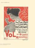 Fine Art and General Insurance Company Limited Impressão colecionável por Emile Berchmans