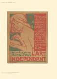 L'Art Independant Impressão colecionável por Emile Berchmans