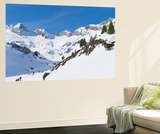 Reichenspitze Range, Hohe Tauern, Richterhuette Mountain Hut, Austria Posters av Martin Zwick