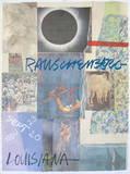 Louisiana Plakat af Robert Rauschenberg