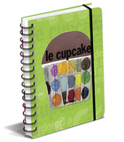 Le Cupcake Journal Journal intime & Carnet