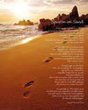 Spuren Im Sand Poster