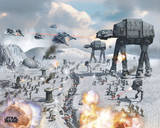 Star Wars - Vehicles Hoth Affiches