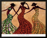 Rhythm Posters by Monica Stewart