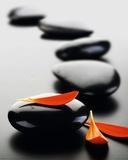 Zen Stones - Red Posters