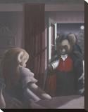 Dracu Teddy Impressão em tela esticada por Preston Craig