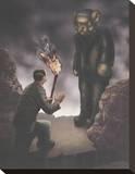 Franken Teddy Impressão em tela esticada por Preston Craig